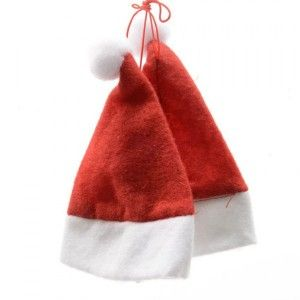 Lot de 2 bonnets mini bonnets Rouge