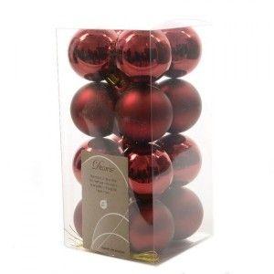 Vous aimerez aussi : Lot de 16 boules de No�l (D40 mm) Alpine Bordeaux