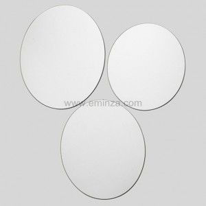 Lot de 3 Miroirs ronds Glow