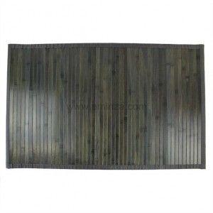 Tapis 190x135cm BAMBOU GRIS - Bali chic - Tapis-Textiles, Tapis