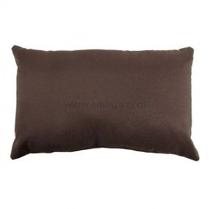 Coussin rectangulaire Nelson Chocolat