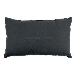 Coussin rectangulaire Nelson Anthracite