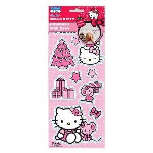 Raamstickers herkleefbaar Hello Kitty Mix