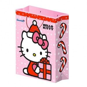 Pacco regalo Alt.40 cm Hello Kitty