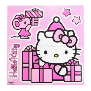 Raamstickers Hello Kitty Decor cadeautjes XXL