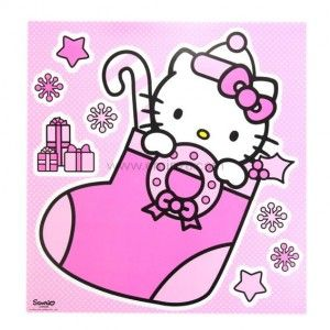 Raamstickers Hello Kitty XXL