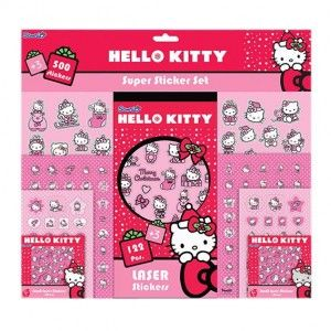 Confezione di stickers Disney Hello Kitty