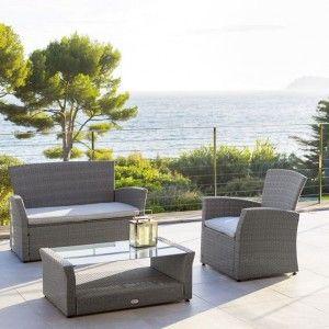Emejing Salon De Jardin Hesperide Bora Bora Contemporary - Awesome ...