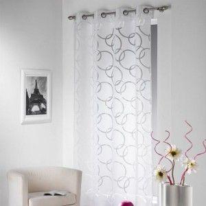 Vous aimerez aussi : Voilage (140 x H240 cm) Cascade Blanc