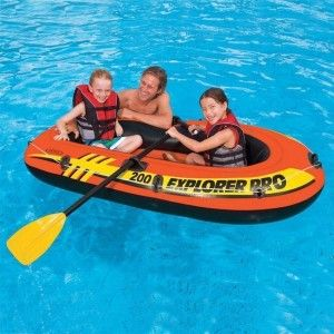 Barco hinchable Explorer PRO 200 - Intex