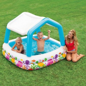 Piscine gonflable Pare-Soleil Fidji - Intex
