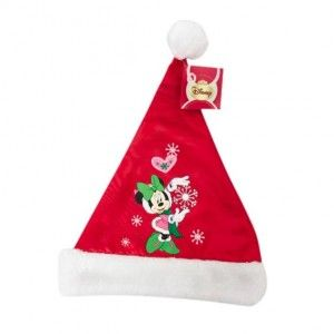 Berretto di Natale Disney satin Minni