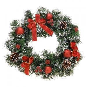 Couronne De Noël Décorée Nueve