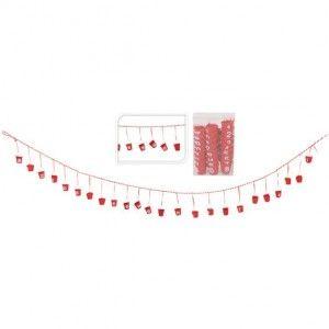 Calendrier de l 39 avent rouges calendrier de l 39 avent eminza - Decoration fenetre de l avent ...