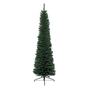 Albero di Natale artificiale New Pencil Alt. 210 cm Verde abete