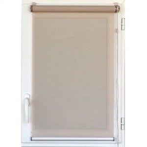 Store enrouleur tamisant (90 x H180 cm) Uni Lin