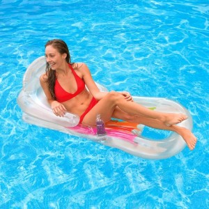 Fauteuil piscine King Cool Transparent - Intex