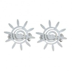 Lot de 2 pinces Helios Gris