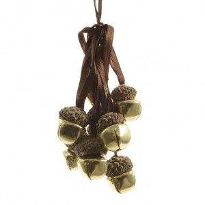 Suspension clochette traditionnelles Chocolat