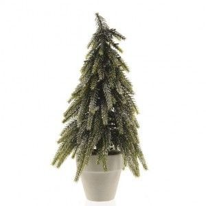 Sapin artificiel de table Kaprun H34 cm Vert sapin