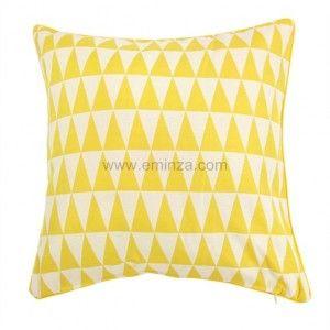 rideau tamisant 135 x h260 cm backgammon jaune rideau tamisant eminza. Black Bedroom Furniture Sets. Home Design Ideas