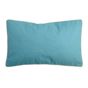 Coussin rectangulaire Bicolore Bleu