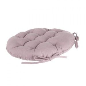 Coussin de chaise ronde Lina Rose
