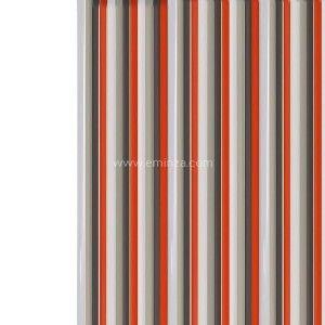 rideau fils fantaisie coeurs rouge rideau de porte eminza. Black Bedroom Furniture Sets. Home Design Ideas