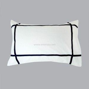 housse de couette et deux taies 240 cm sonora bleu housse de couette eminza. Black Bedroom Furniture Sets. Home Design Ideas