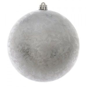 Pallina di Natale (D140 mm) Magic Argento