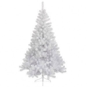 Sapin artificiel de Noël Royal H120 cm Blanc