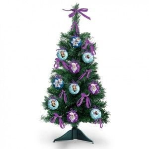 Kit de sapin artificiel de table Frozen H60 cm Multicouleur