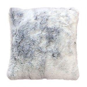 plaid fausse fourrure 150 cm antartic gris plaid fausse fourrure eminza. Black Bedroom Furniture Sets. Home Design Ideas