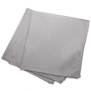 Lot de 3 serviettes Essentiel Grises