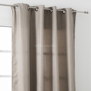 Rideau tamisant (145 x H240 cm) Amsterdam Taupe