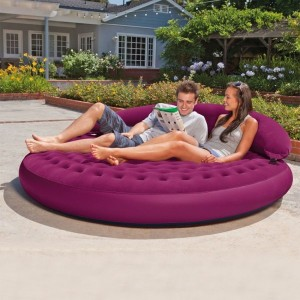 Pouf gonflable Lounge Cosy - Intex