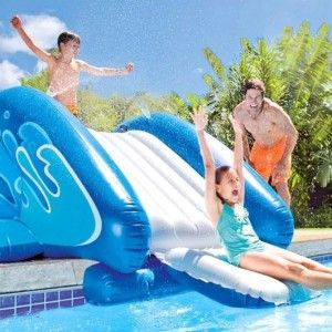 Tobogán para piscina enterrada - Intex