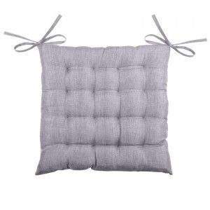 Coussin de chaise Béa 16 points Gris