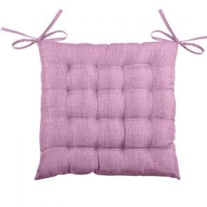 Coussin de chaise Béa 16 points Lilas