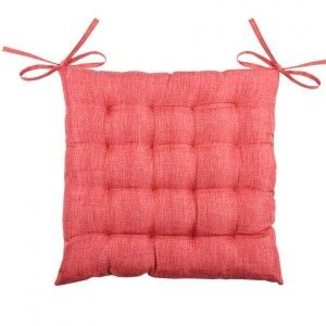Coussin de chaise Béa 16 points Rouge