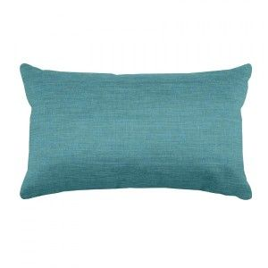 Coussin rectangulaire Béa Turquoise