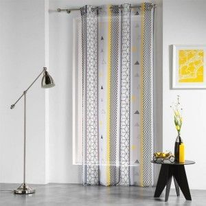 Gardine (140 x H 240 cm) Yellow Mix