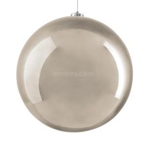 Boule de Noël (D200 mm) Alpine Perle