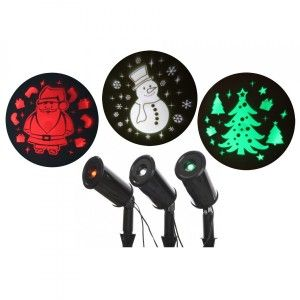 Projecteur 3 motifs Multicolore 3 LED