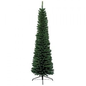 Sapin artificiel de Noël Pencil H300 cm Vert