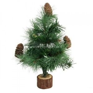 Sapin artificiel de table Royal Majestic H25 cm Vert
