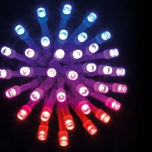 Luces de Navidad con mando a distancia  10 m Multicolor 100 LED