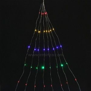 Luces de Navidad Micro LED Racimo 2 m Multicolor 160 LED CP