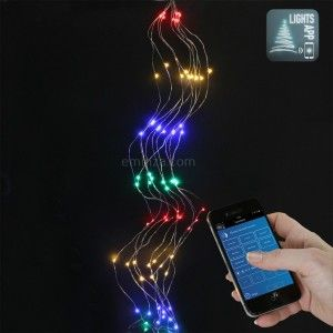 Luces de Navidad Racimo Bluetooth 2 m Multicolor 200 LED CT