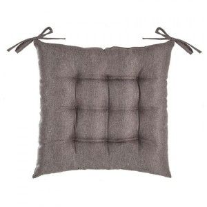 Coussin de chaise Tim taupe